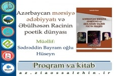 Azərbaycan mərsiyə ədəbiyyatı və Əbülhəsən Racinin poetik dünyası
