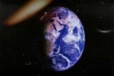 Dünya fırlanır.