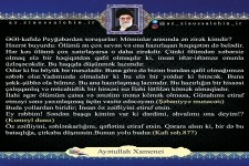 Ayətullah Xamenei : Möminlər arasında ən zirək
