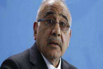 İraqın baş naziri Adel Abdel Mehdi